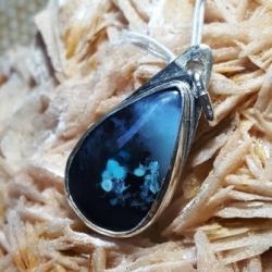 Opale bleue Indonésie goutte
